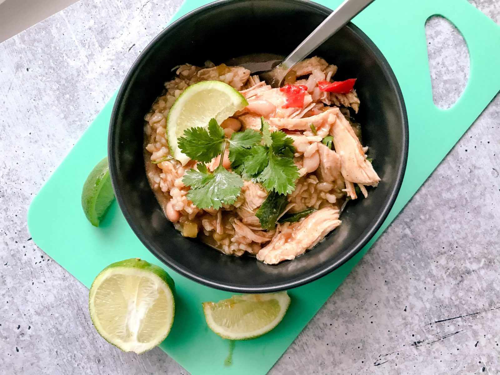 Chicken and Rice Verde